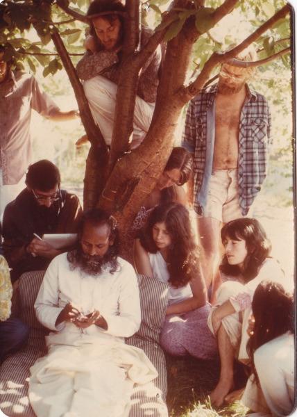 Babaji teaches