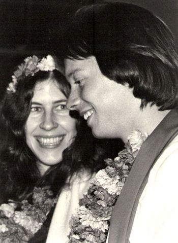 Wedding fire ceremony - 1977