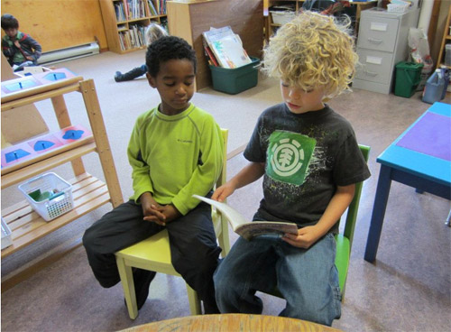 Reading month at the Salt Spring Centre School