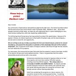 Help us protect Blackburn Lake