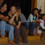 Sanatan, Divakar, Sudarsan, Rajani, Lakshmi - some of the Canadians at the May retreat with Babaji