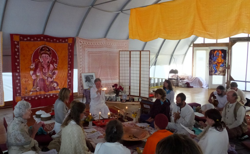 Guru Purnima celebration at the Centre, 2013