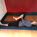 Asana of the Month: Supta Padangusthasana