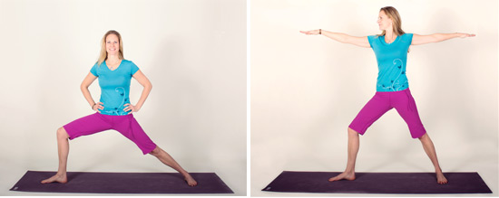 Modifications of the pose
