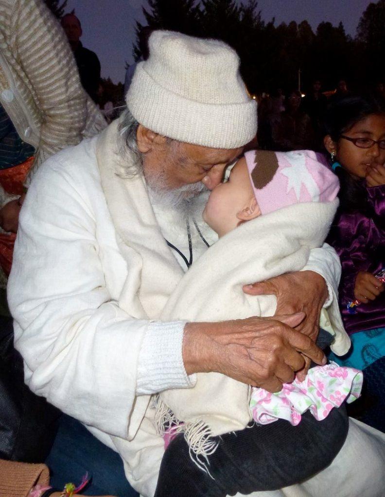 Babaji with baby