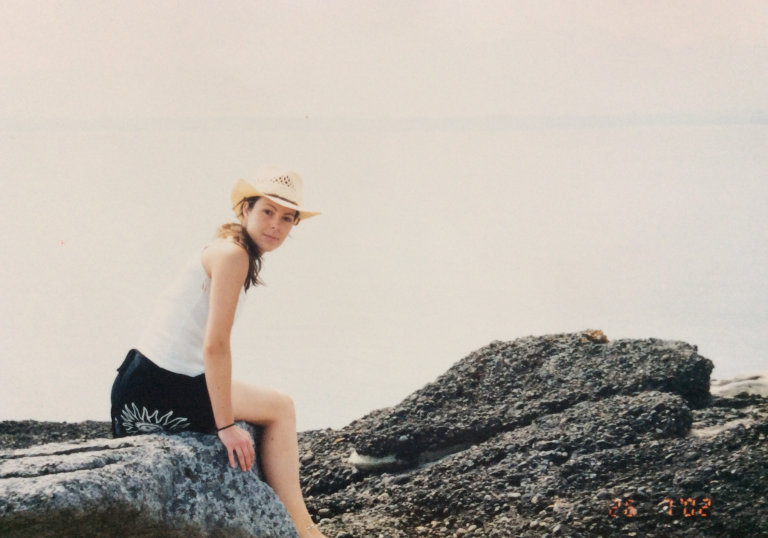 Spending time each summer on Hornby Island with my family was a special time for me, this photo is from July 2002.