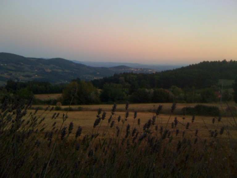 On retreat in Tuscany, summer 2011