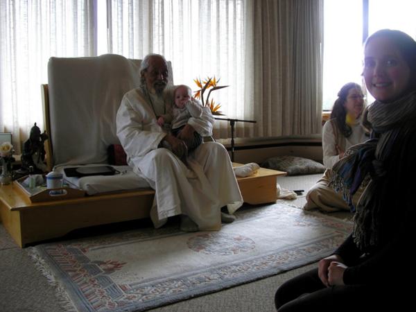 Stella and Babaji, Spring 2009