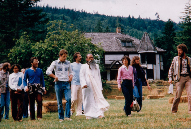 Walking the land with Babaji, 1981