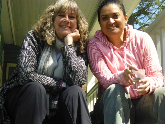 Lakshmi and Racquel