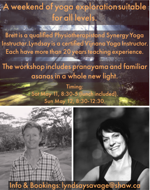 Waking up Connections in the Body workshop - May 11-12, 2019