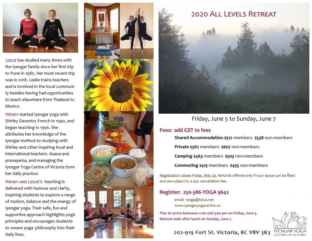 Iyengar Yoga Retreat 2020