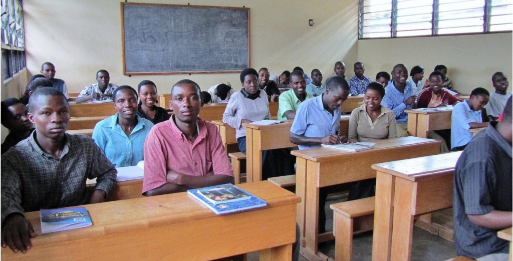 One class in Rwanda, 2011